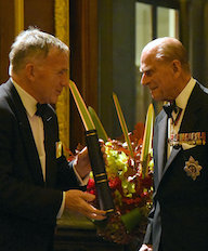 FREng ceremony - David and Prince Philip